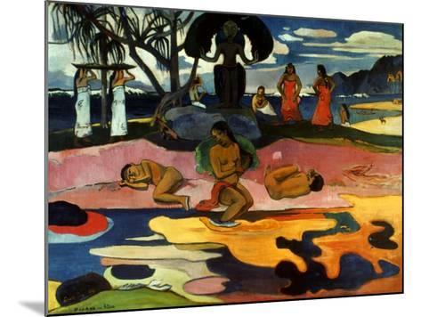 Gauguin: Day Of God, 1894-Paul Gauguin-Mounted Giclee Print