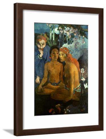 Gauguin: Contes, 1902-Paul Gauguin-Framed Art Print