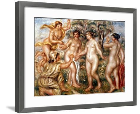 Renoir: Judgment Of Paris-Pierre-Auguste Renoir-Framed Art Print