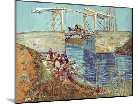 Van Gogh: Drawbridge, 1888-Vincent van Gogh-Mounted Giclee Print