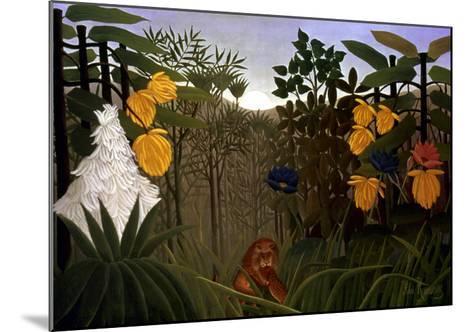 Rousseau: Lion-Henri Rousseau-Mounted Giclee Print