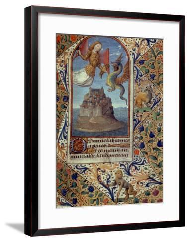 St. Michael--Framed Art Print