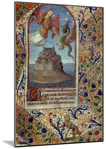St. Michael--Mounted Giclee Print