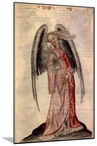 Zodiac: Virgo The Virgin- Albumasar-Mounted Giclee Print