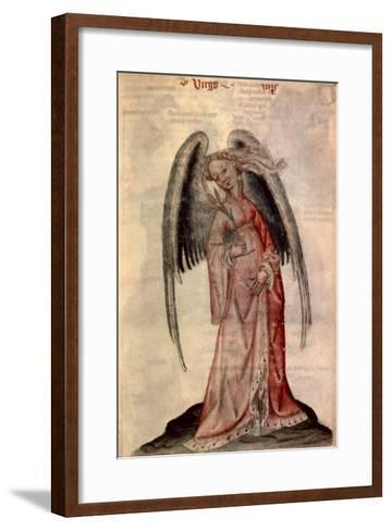 Zodiac: Virgo The Virgin- Albumasar-Framed Art Print