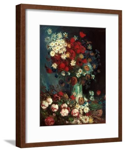 Van Gogh: Still Life, 1886-Vincent van Gogh-Framed Art Print