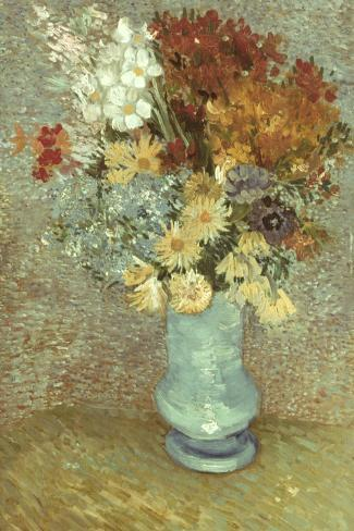 Van Gogh: Flowers, 1887-Vincent van Gogh-Stretched Canvas Print