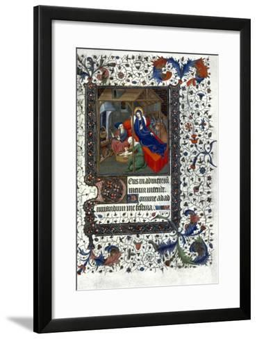 Nativity: Washing The Child--Framed Art Print