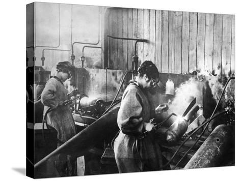 World War I: Women Workers--Stretched Canvas Print