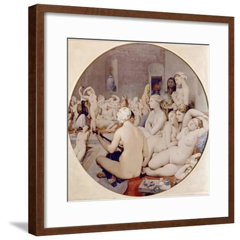 Ingres: Turkish Bath-Jean-Auguste-Dominique Ingres-Framed Art Print