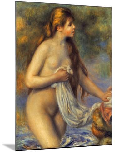 Renoir: Bather-Pierre-Auguste Renoir-Mounted Giclee Print