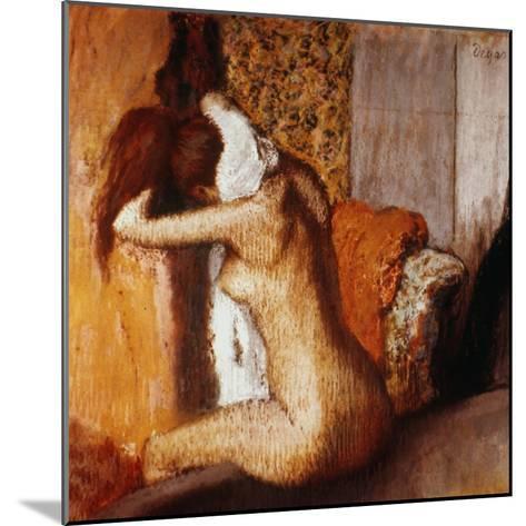 Degas: After The Bath-Edgar Degas-Mounted Giclee Print
