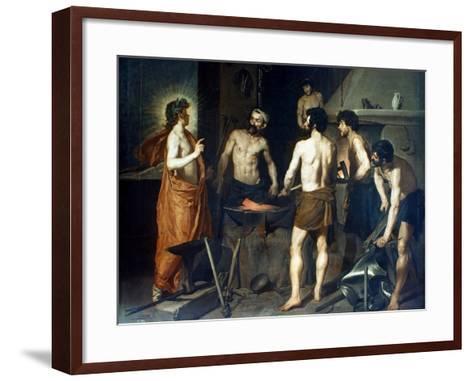 Velasquez: Vulcan-Diego Velazquez-Framed Art Print