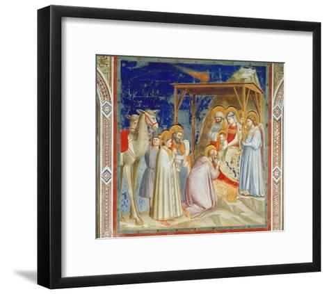 Giotto: Adoration-Georges Braque-Framed Art Print