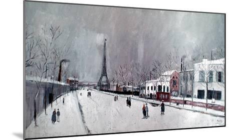 Utrillo: Eiffel Tower-Maurice Utrillo-Mounted Giclee Print