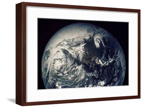 Apollo 16: Earth--Framed Art Print