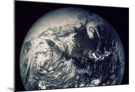 Apollo 16: Earth--Mounted Giclee Print