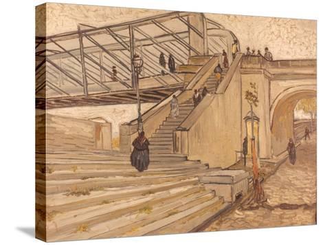 Van Gogh: Bridge, 1888-Vincent van Gogh-Stretched Canvas Print