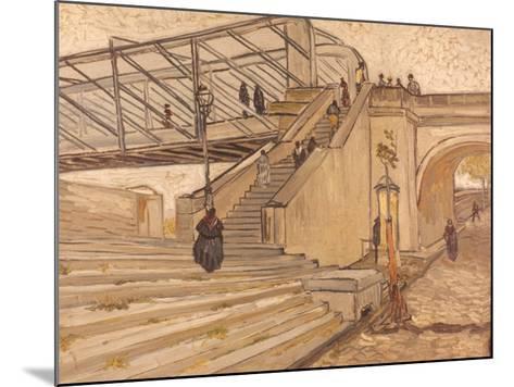 Van Gogh: Bridge, 1888-Vincent van Gogh-Mounted Giclee Print