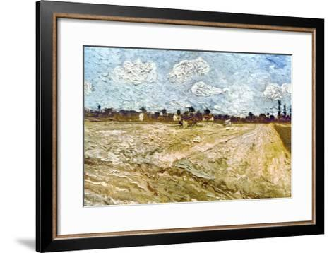 Van Gogh: Fields, 1888-Vincent van Gogh-Framed Art Print
