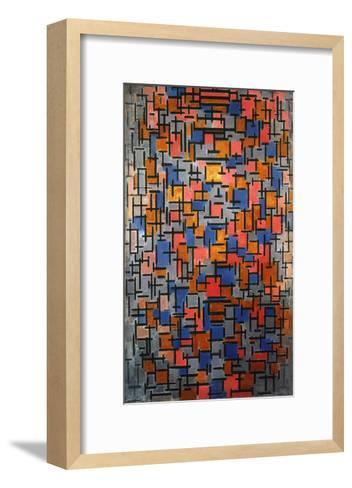 Mondrian: Composition-Piet Mondrian-Framed Art Print