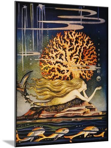 Andersen: Little Mermaid-Jennie Harbour-Mounted Giclee Print