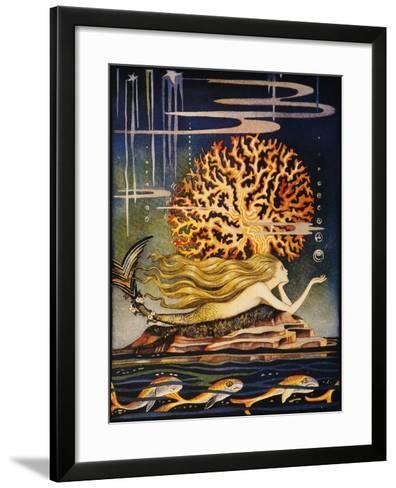 Andersen: Little Mermaid-Jennie Harbour-Framed Art Print