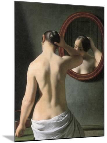 Eckersberg: Nude, C1837-Christoffer-wilhelm Eckersberg-Mounted Giclee Print