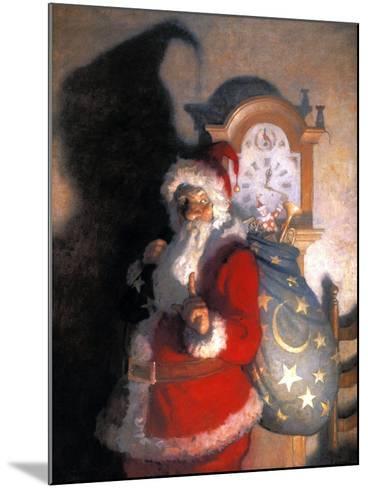 Wyeth: Old Kris (Kringle)-Newell Convers Wyeth-Mounted Giclee Print