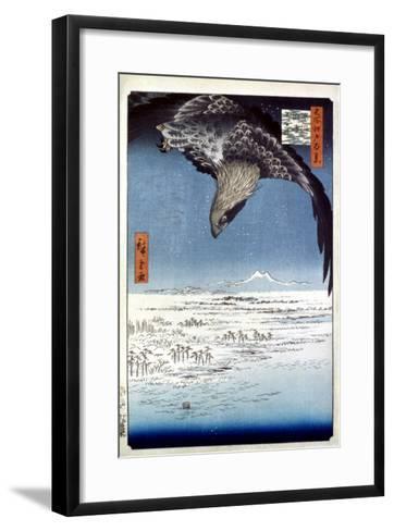 Hiroshige: Edo/Eagle, 1857-Ando Hiroshige-Framed Art Print