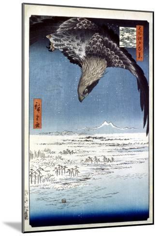 Hiroshige: Edo/Eagle, 1857-Ando Hiroshige-Mounted Giclee Print