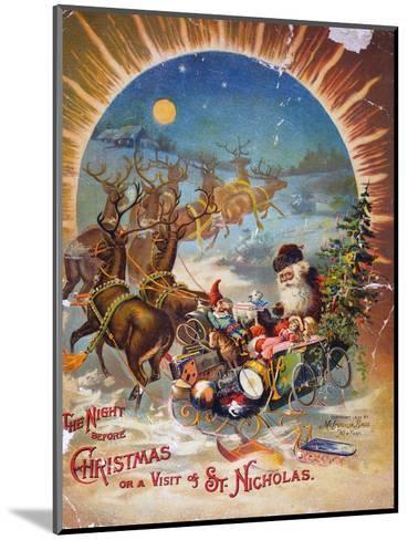 Night Before Christmas--Mounted Giclee Print