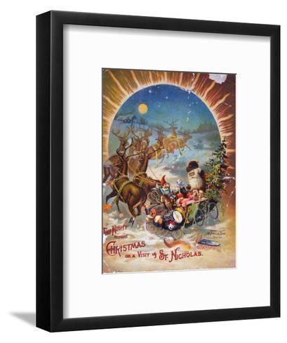 Night Before Christmas--Framed Art Print
