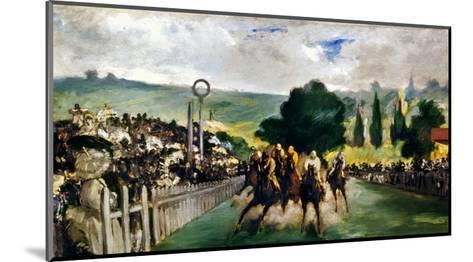 Manet: Longchamps, 1867-Edouard Manet-Mounted Giclee Print