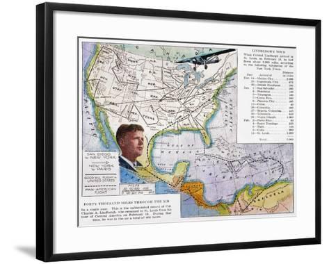 Charles Lindbergh--Framed Art Print