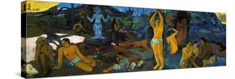 Gauguin: Painting, 1897-Paul Gauguin-Stretched Canvas Print