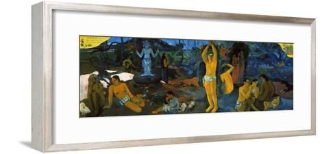 Gauguin: Painting, 1897-Paul Gauguin-Framed Art Print