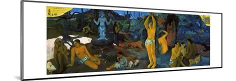 Gauguin: Painting, 1897-Paul Gauguin-Mounted Giclee Print