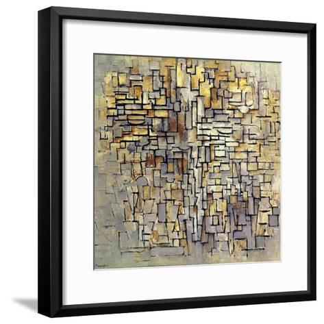 Mondrian: Composition, 1913-Piet Mondrian-Framed Art Print
