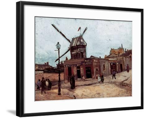 Van Gogh: La Moulin, 1886-Vincent van Gogh-Framed Art Print