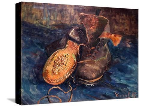 Van Gogh: The Shoes, 1887-Vincent van Gogh-Stretched Canvas Print