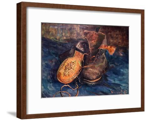 Van Gogh: The Shoes, 1887-Vincent van Gogh-Framed Art Print