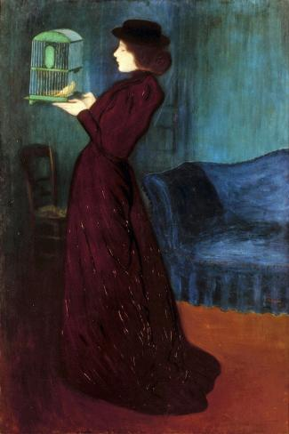 Ripple-Ronai: Woman, 1892-Jozsef Rippl-Ronai-Stretched Canvas Print