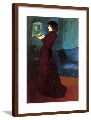 Ripple-Ronai: Woman, 1892-Jozsef Rippl-Ronai-Framed Art Print