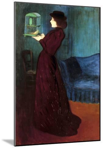 Ripple-Ronai: Woman, 1892-Jozsef Rippl-Ronai-Mounted Giclee Print