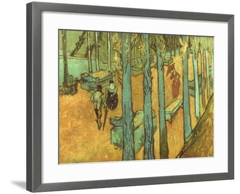 Van Gogh: Alyscamps, 1888-Vincent van Gogh-Framed Art Print