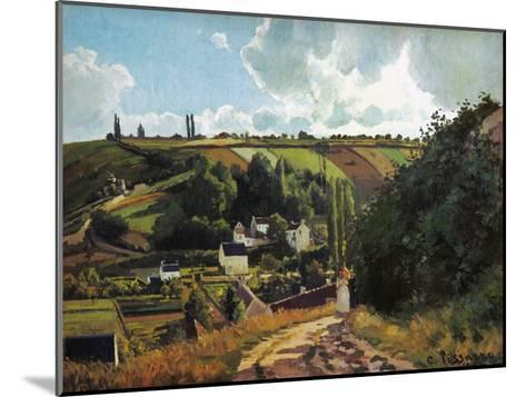 Pissarro: Jallais, 1867-Camille Pissarro-Mounted Giclee Print