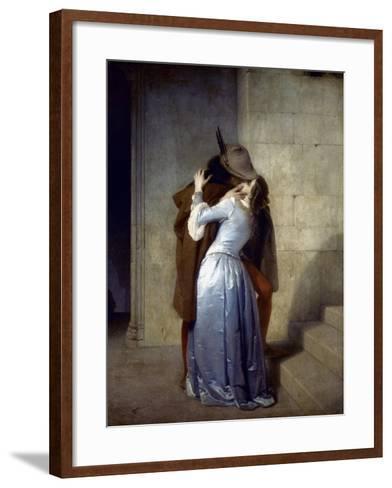 Hayez: The Kiss-Francesco Hayez-Framed Art Print
