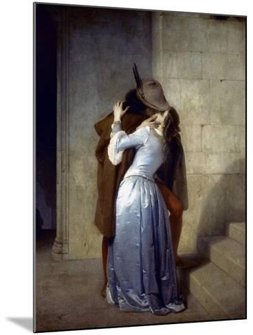 Hayez: The Kiss-Francesco Hayez-Mounted Giclee Print