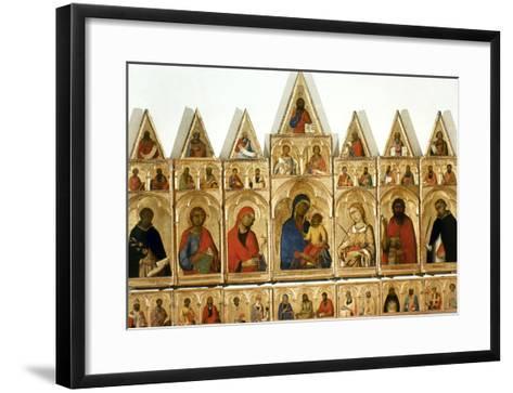 Martini: Statesman, C1315-Simone Martini-Framed Art Print